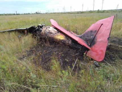 Близ Тольятти разбился самолет. Пилот погиб