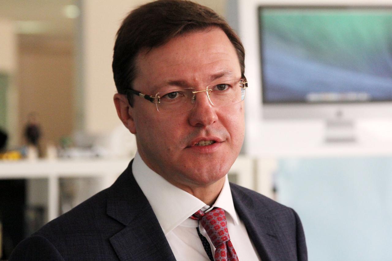 Губернатор Дмитрий Азаров принял участие в Московском финансовом форуме-2019