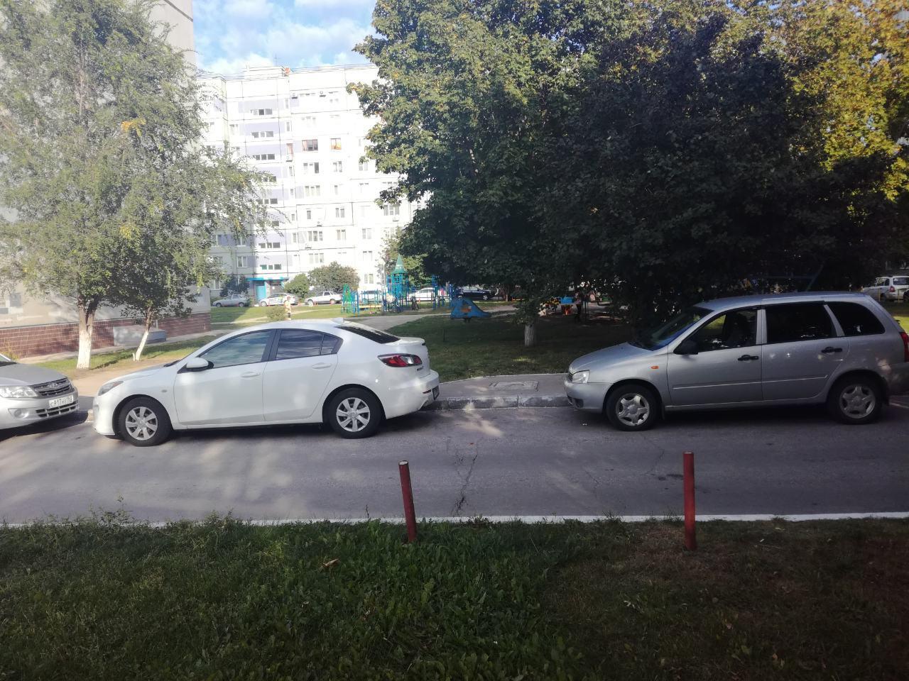 1 сентября в тольяттинском дворе машина сбила 9-летнего мальчика