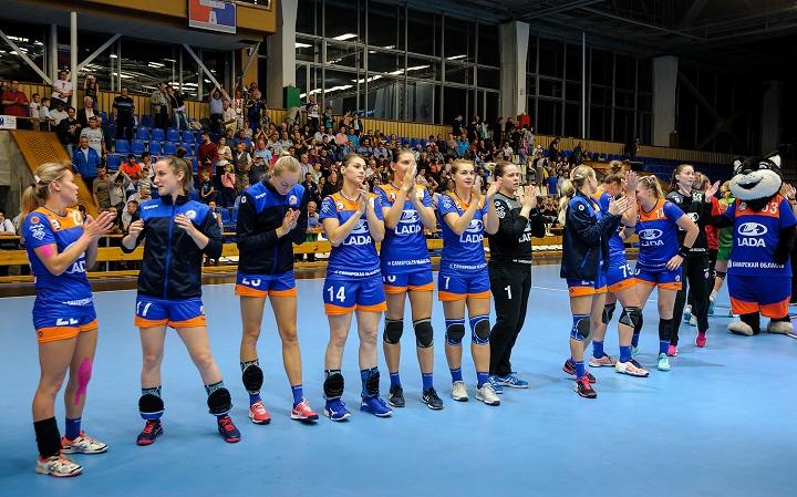 Гандбольная «Лада» обыграла «Кубань» и стала лидером чемпионата