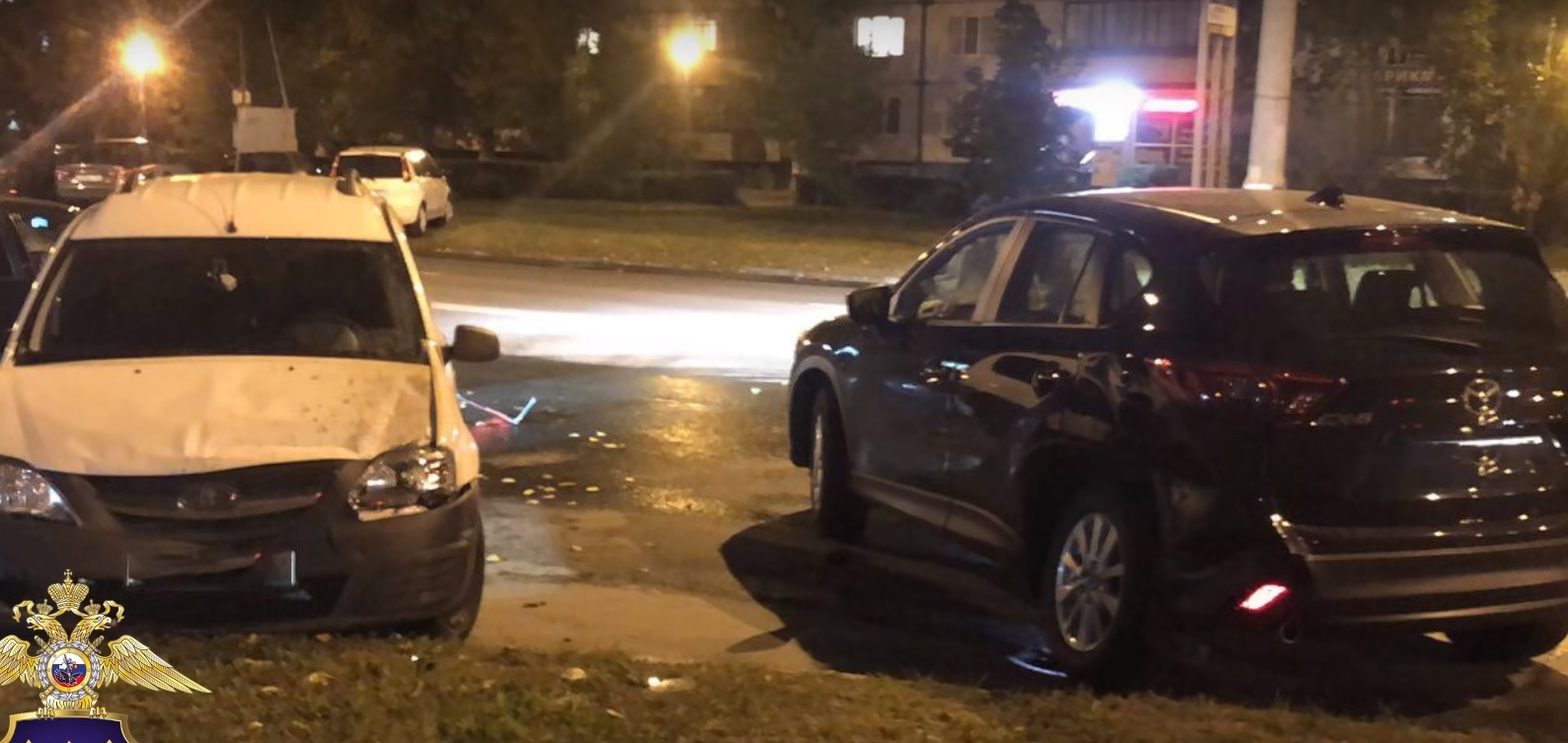 В Тольятти во время погони пьяный водитель устроил ДТП