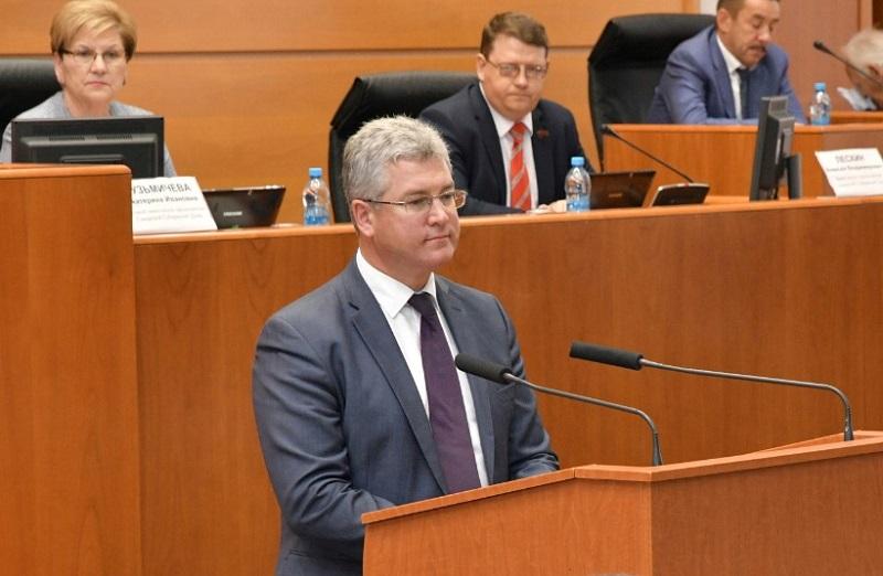 Виктор Кудряшов утвержден на должность председателя правительства Самарской области