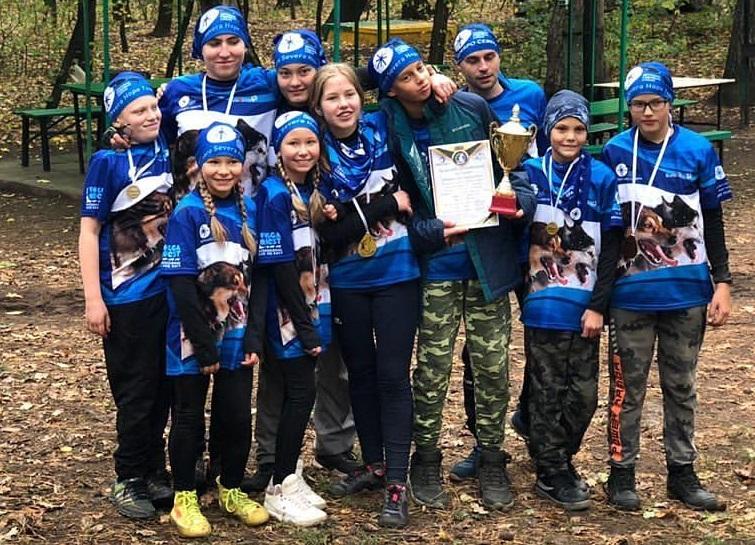 7 призовых мест завоевала тольяттинская команда по ездовому спорту Serebro Severa