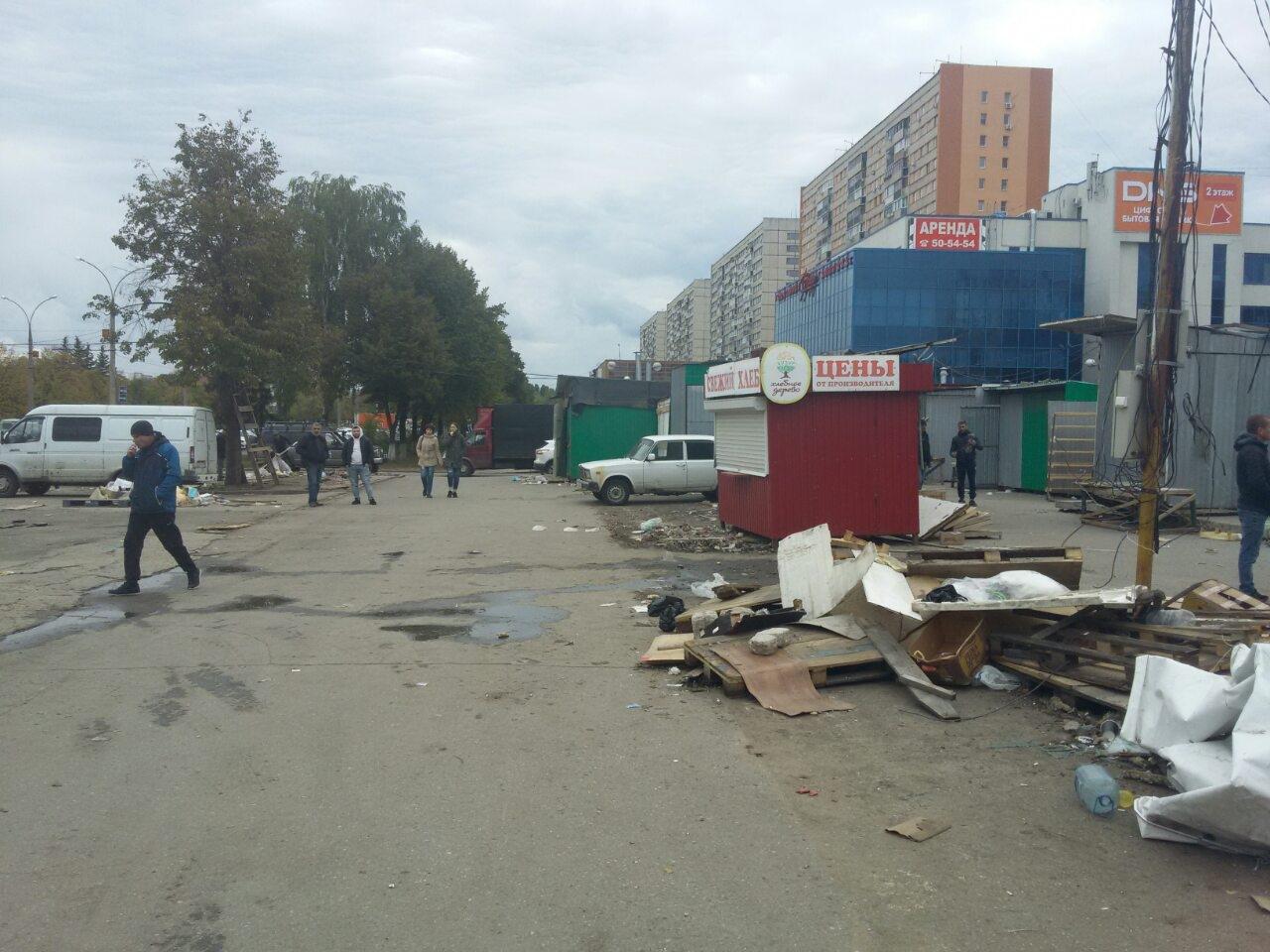 Работали без документов: Полиция рассказала о ликвидации рынка в Тольятти