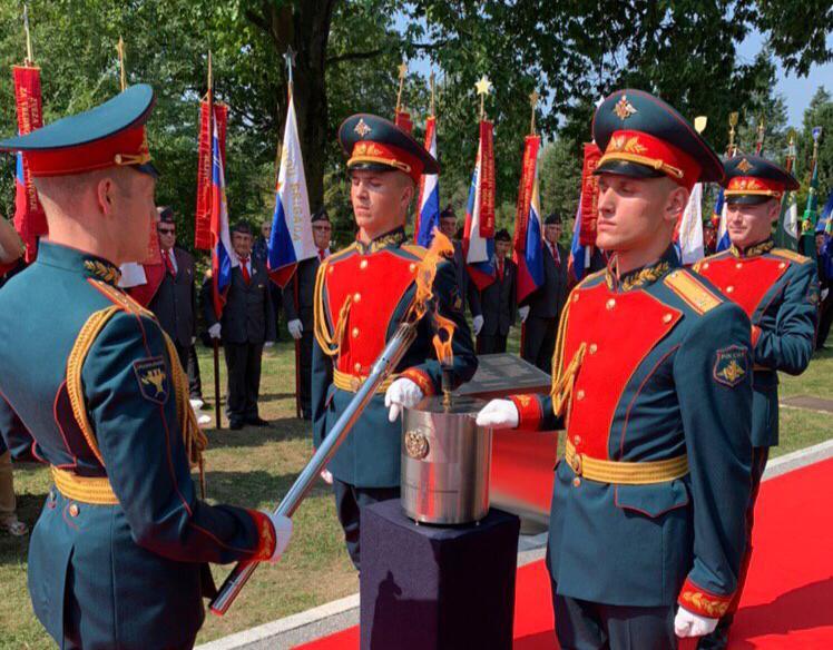 Словении передали изготовленную в Самарской области горелку для Вечного огня в Любляне