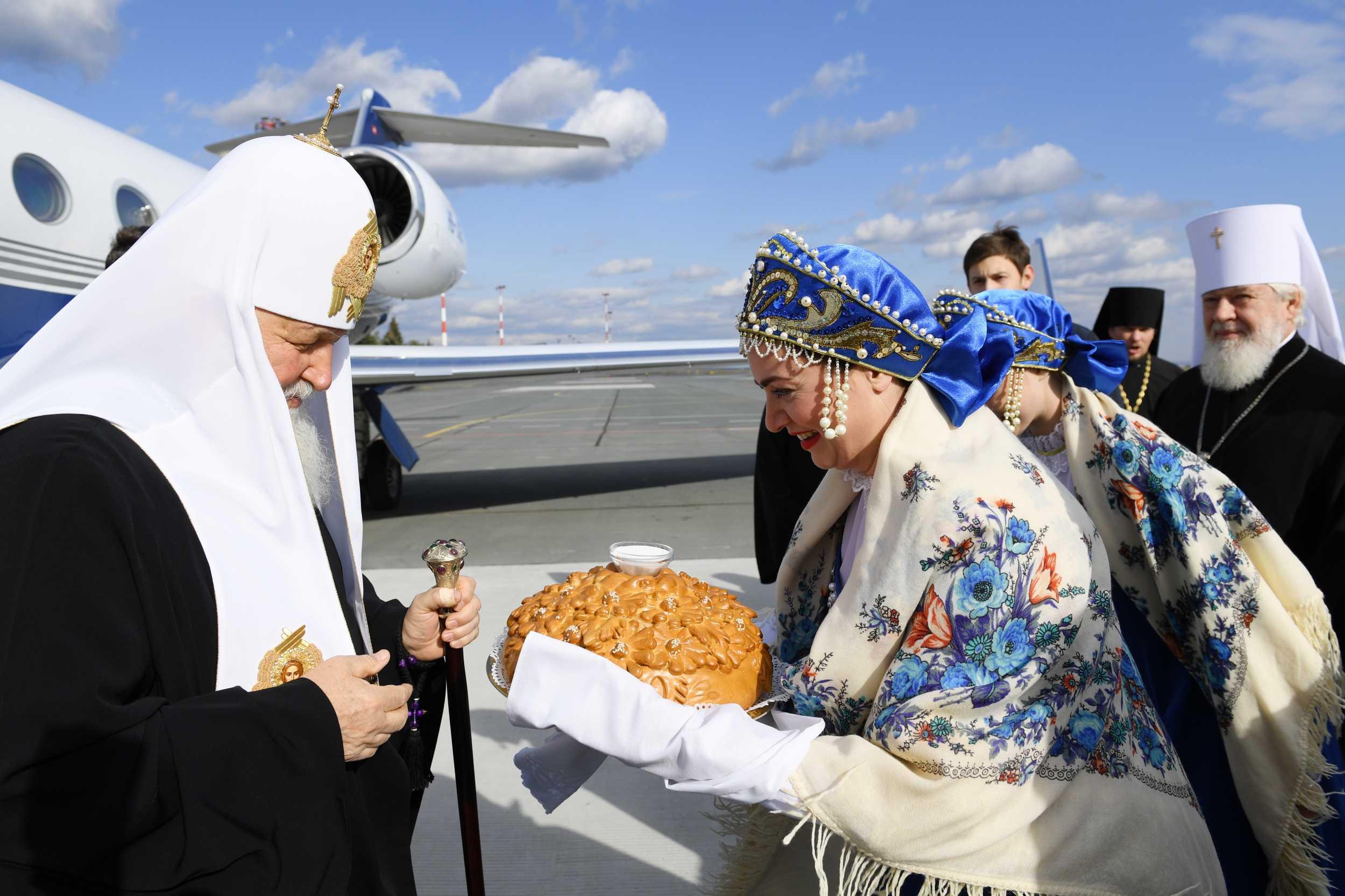 В Тольятти прибыл Патриарх Кирилл