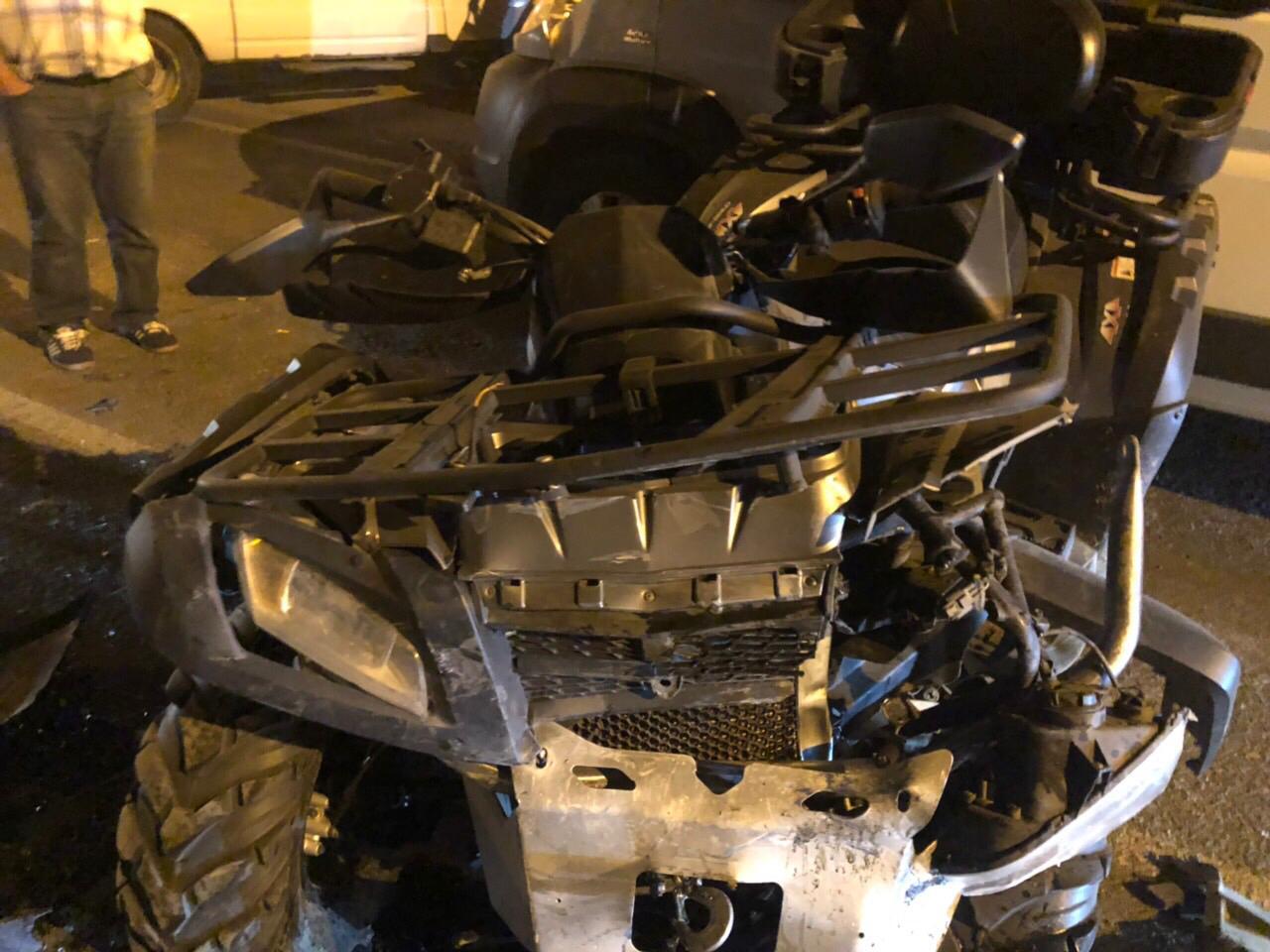 В ГИБДД рассказали подробности аварии с квадроциклом в Тольятти