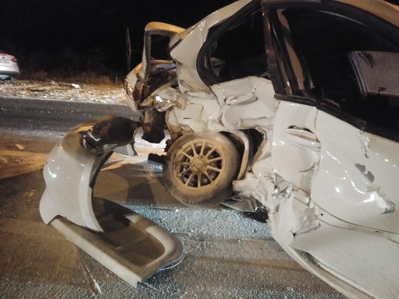 В Тольятти в жесткой аварии «Форда» и «Шевроле» погиб водитель