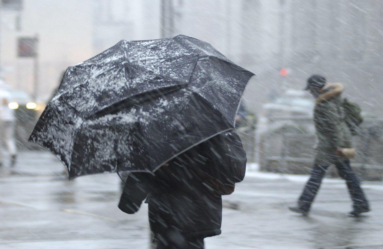 В Самарской области ожидаются мокрый снег и гололед