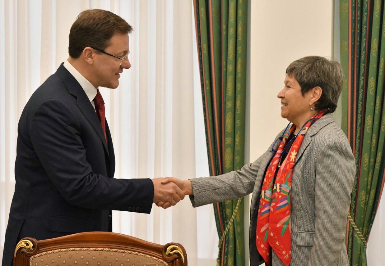 Дмитрий Азаров провел встречу с Полномочным Послом Мексиканских Соединенных Штатов