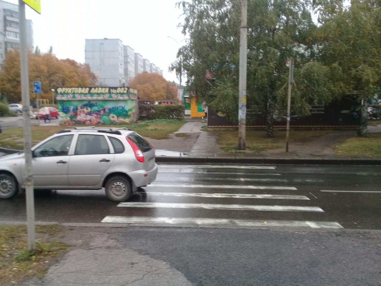 В Тольятти 70-летний водитель на переходе сбил женщину