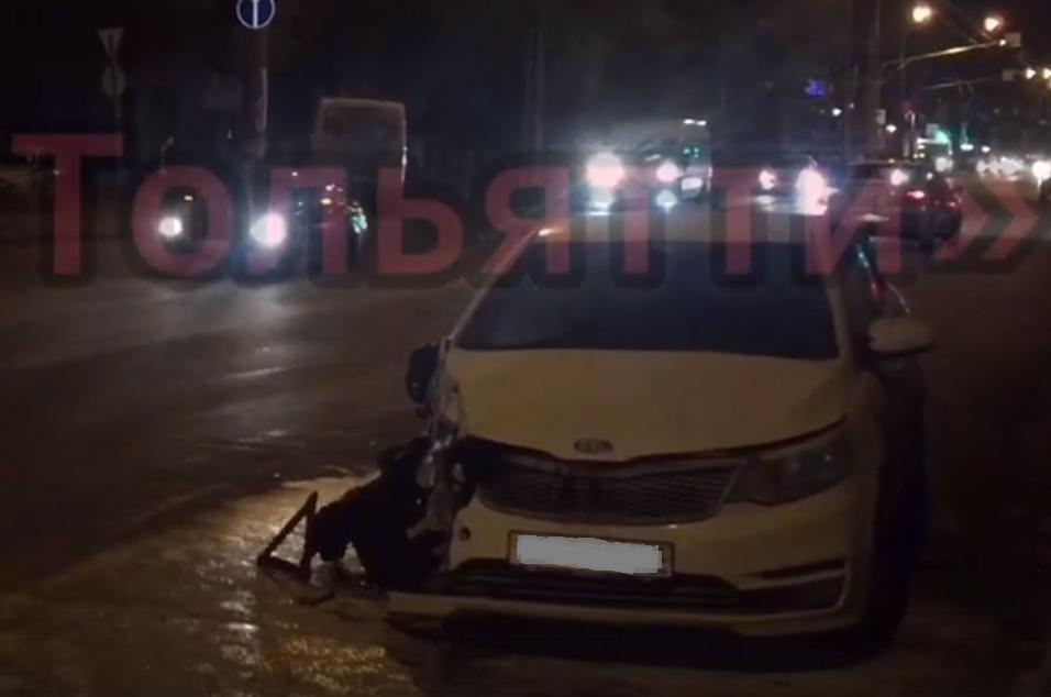 Три человека пострадали в аварии с автобусом в Тольятти