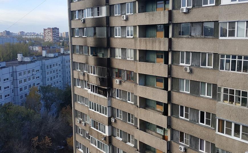 В Тольятти горела квартира. Виновника могут оштрафовать за курение на балконе