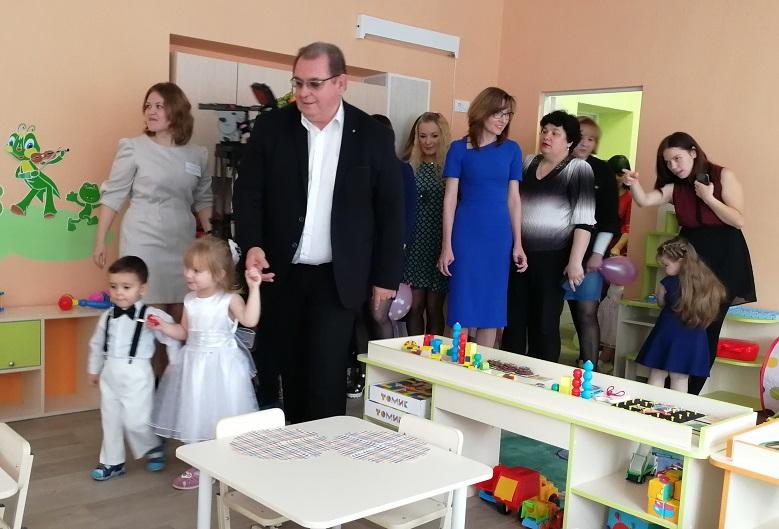 В тольяттинских детсадах открыто 16 новых групп для детей