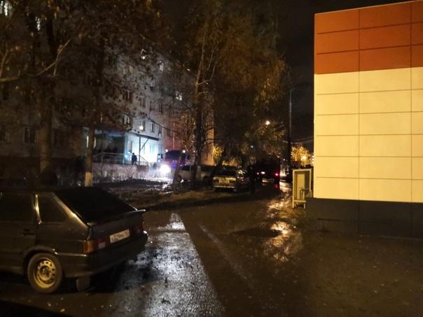 В Тольятти эвакуировали людей во время пожара в жилом доме