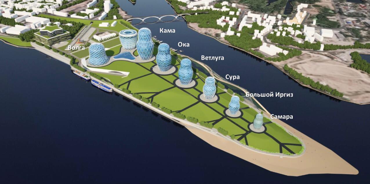 В Самарской области обсуждают новый масштабный проект на реке Волге