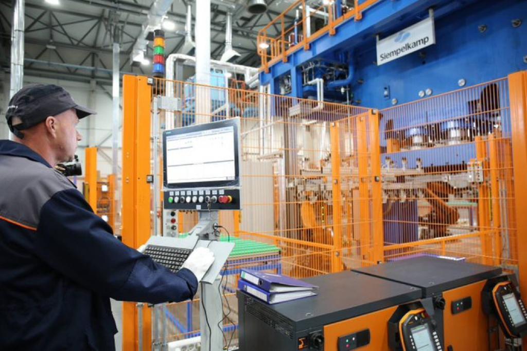 В Тольятти открылось новое химическое производство