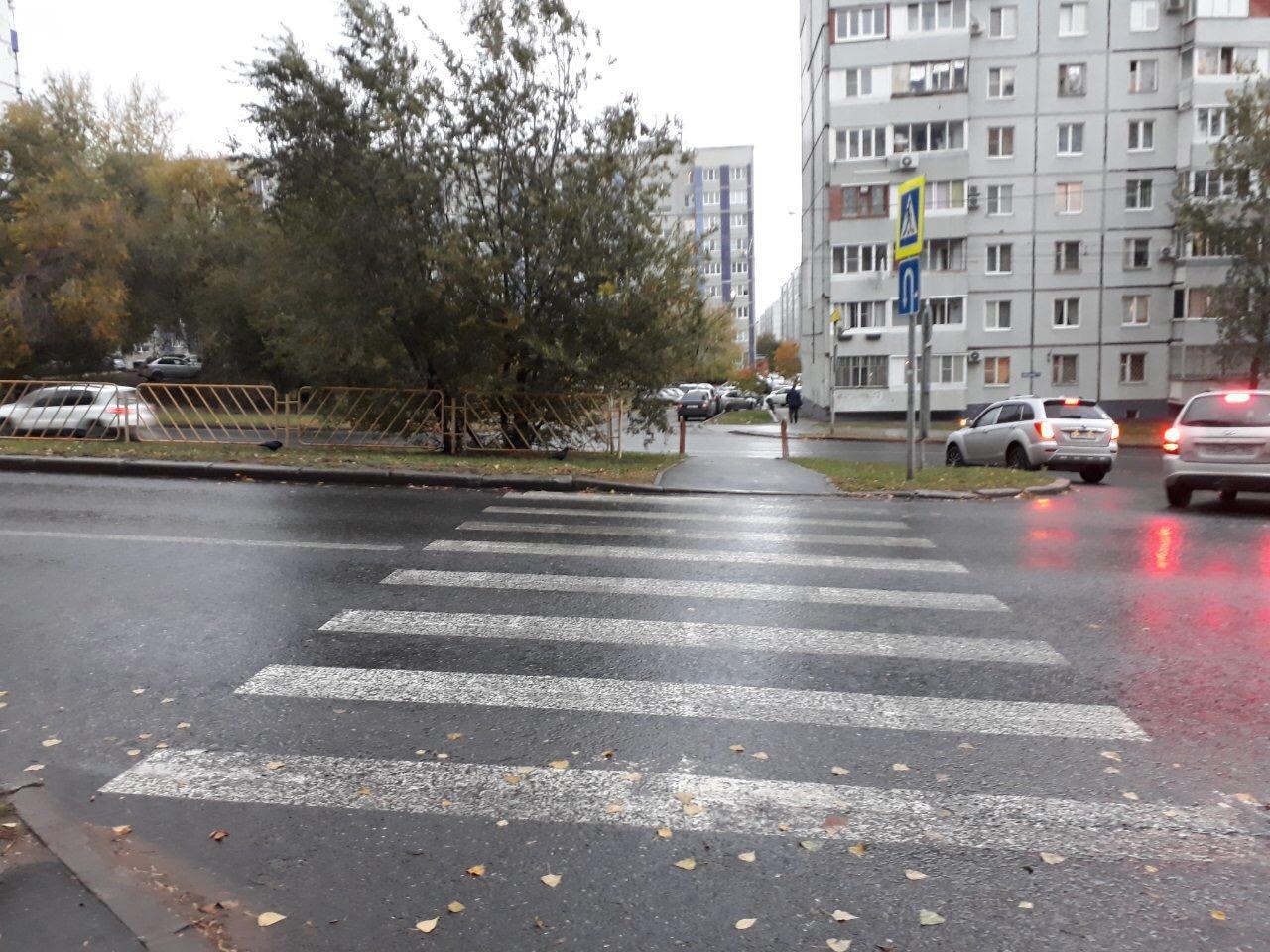 В Тольятти машина сбила малолетнего велосипедиста-нарушителя