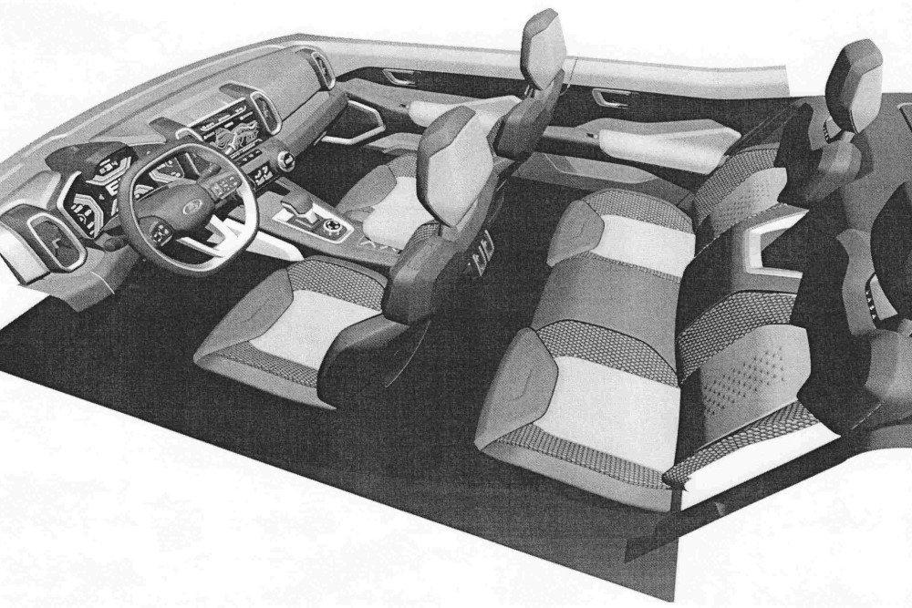 АВТОВАЗ запатентовал интерьер новой Lada 4×4