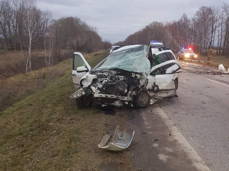 Под Тольятти в страшной аварии погибли два водителя
