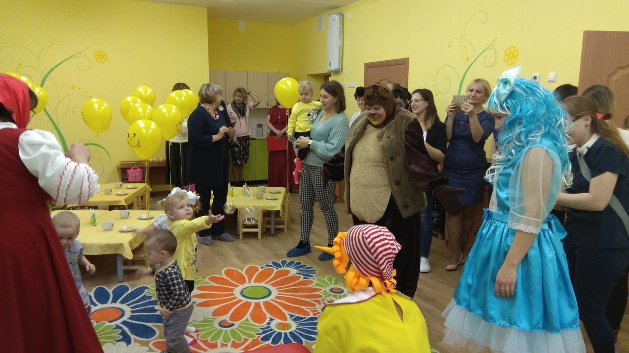 В тольяттинских детсадах открываются новые группы