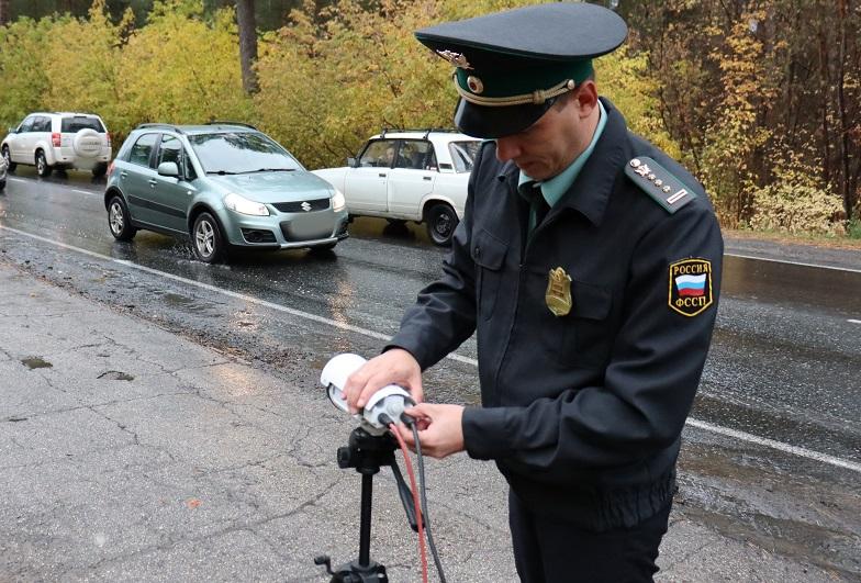 В Самарской области новый спецприбор помог приставам арестовать 200 машин за месяц
