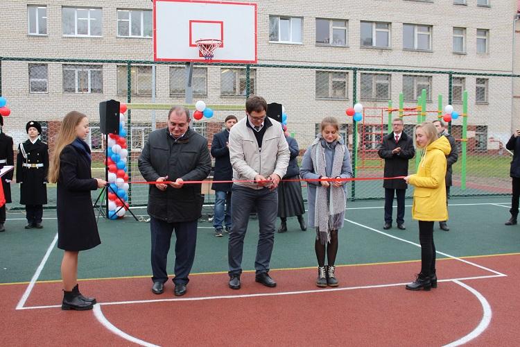 В Тольятти торжественно открыли новую спортплощадку