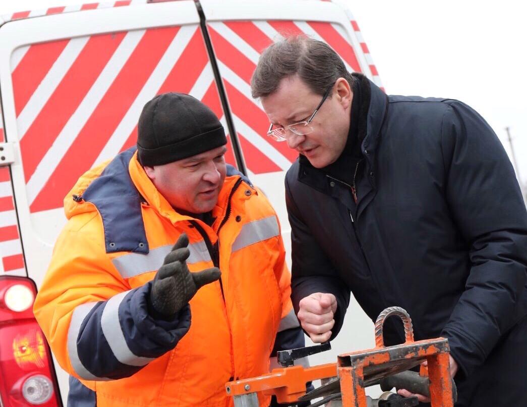 Губернатор проконтролировал ход реализации нацпроектов в Красноармейском районе