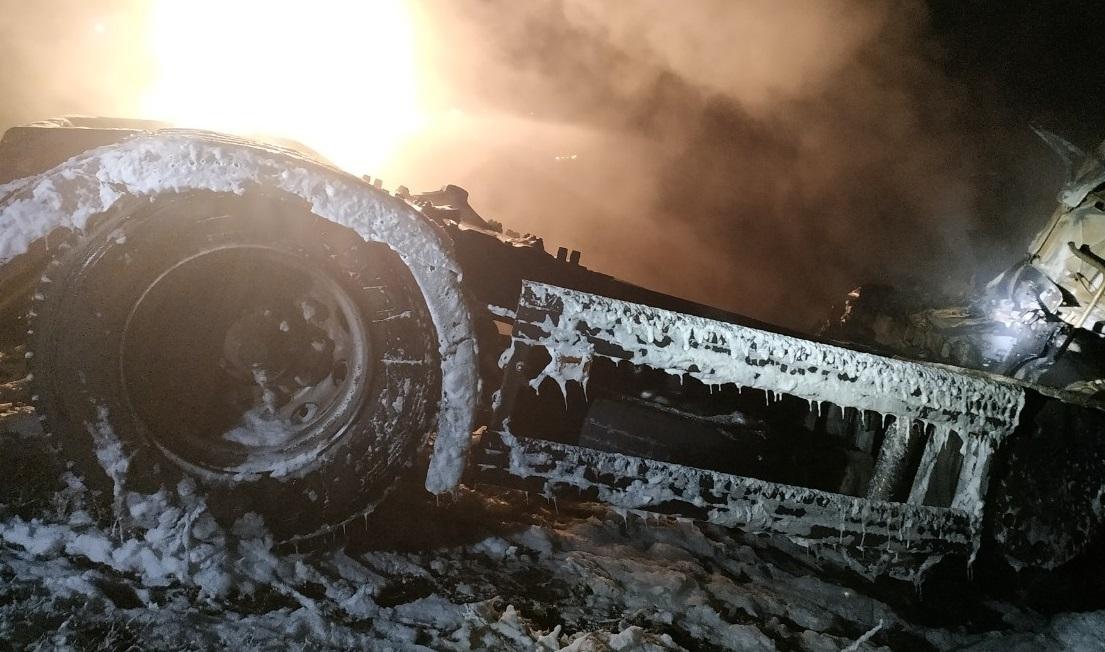 В Самарской области три человека погибли в аварии с нефтевозом