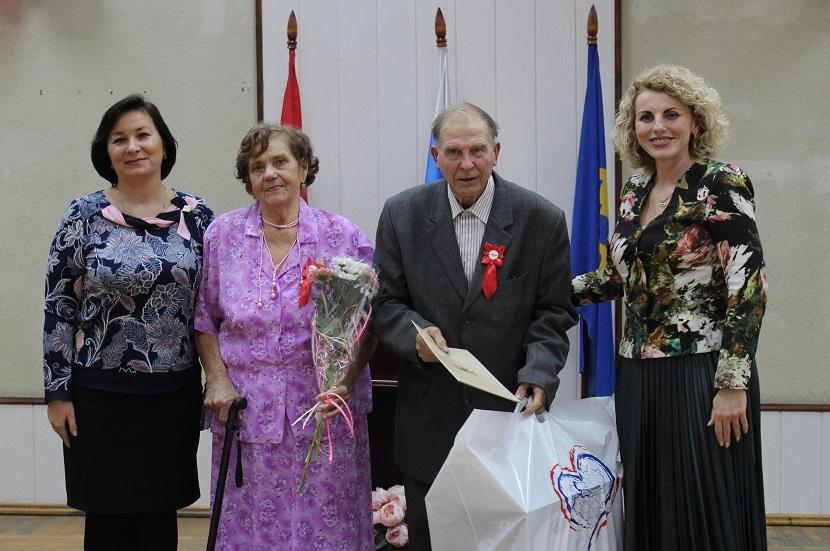 В Тольятти чествовали семейные пары, прожившие вместе более 50 лет