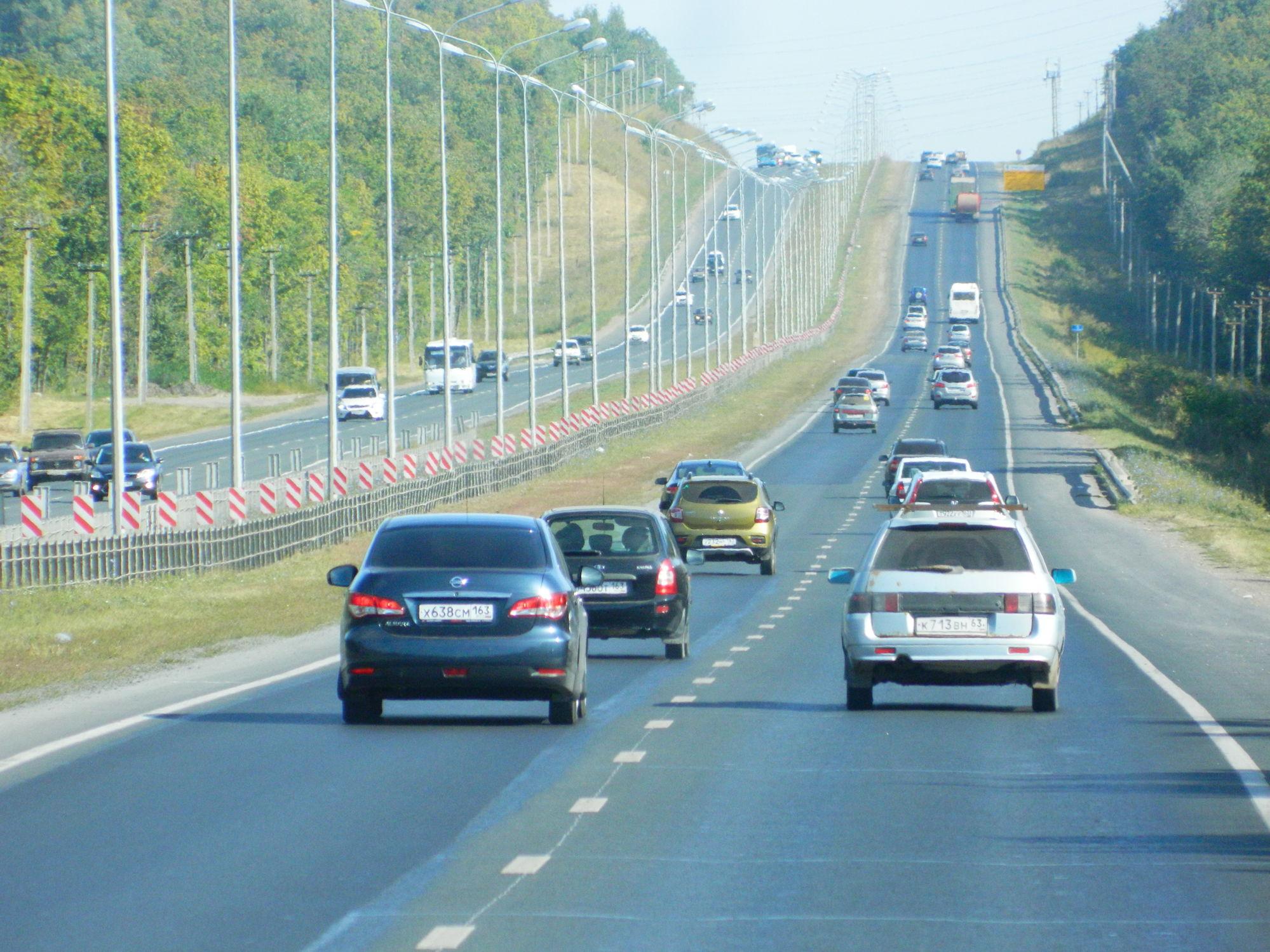 В Тольятти реализация нацпроекта помогла снизить количество аварий на дорогах