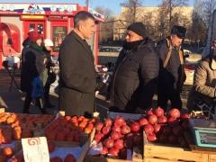 Чиновники проверили один из самых проблемных рынков в Тольятти