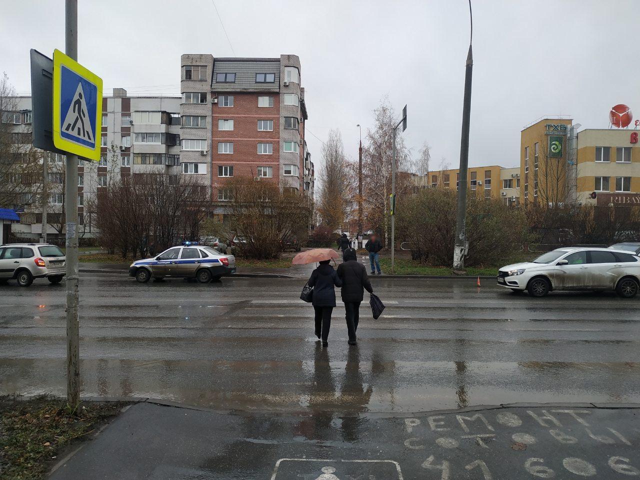 В Тольятти школьницу сбили на пешеходном переходе. Она в больнице