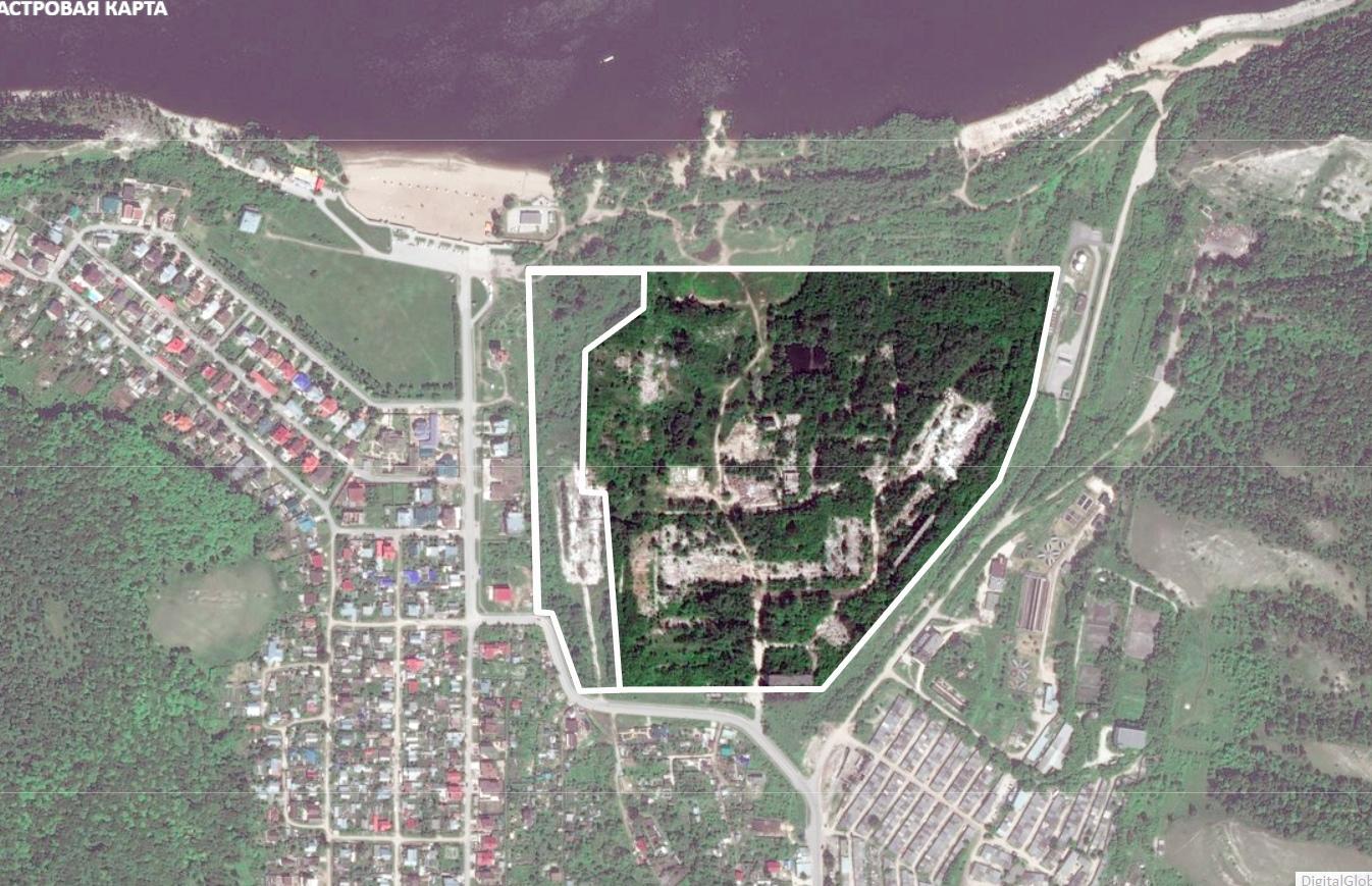 В Жигулевске на месте заброшенного завода планируют создать парк и набережную