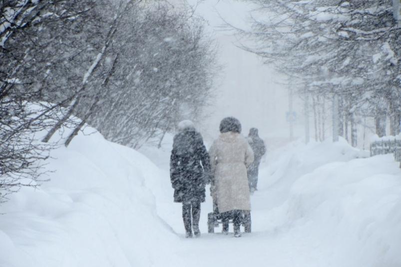 Сильный снег продлится в Самарской области до конца дня