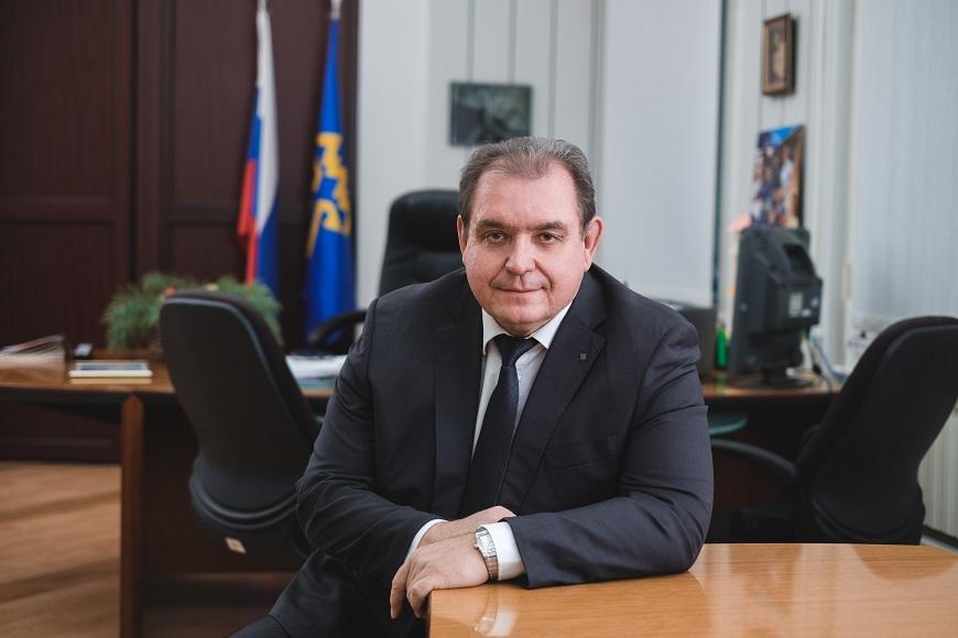 Сергей Анташев поздравил тольяттинцев с новогодними праздниками