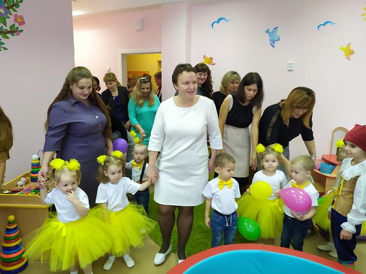 Для тольяттинских малышей открыли группу «Гномики»