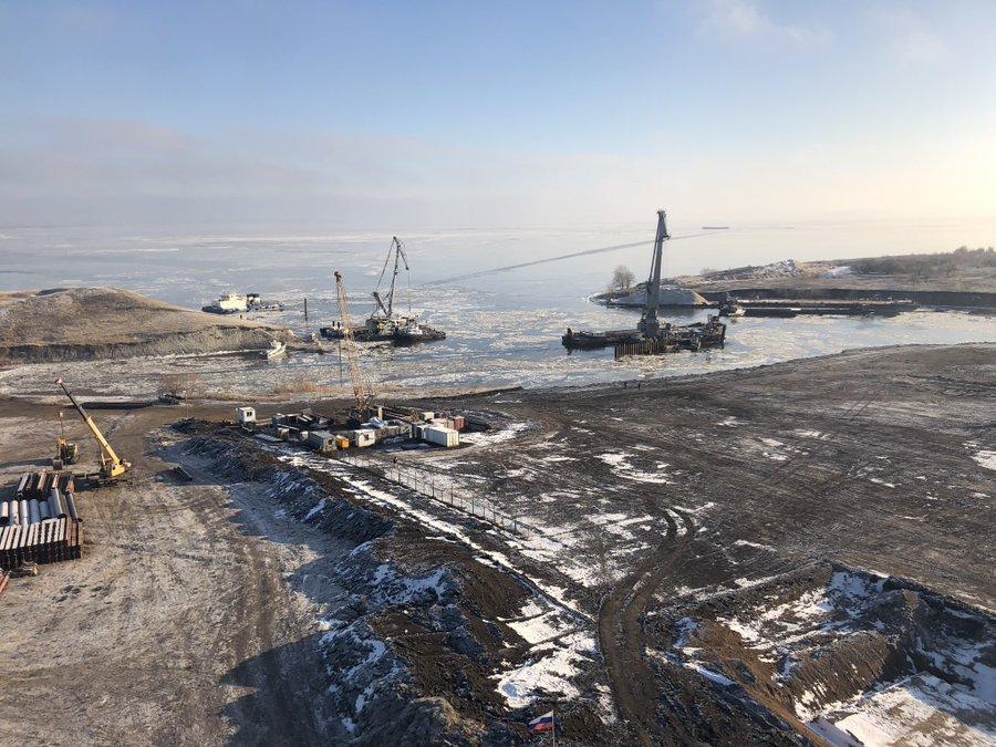 Уникальный объект: Губернатор посетил место строительства нового моста под Тольятти