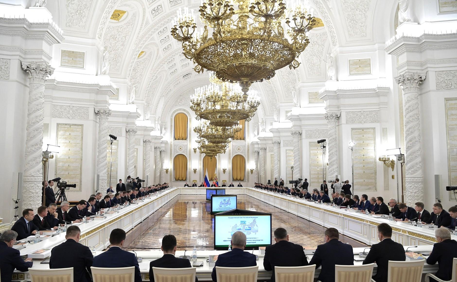 Дмитрий Азаров принял участие в заседании Госсовета РФ по аграрной политике