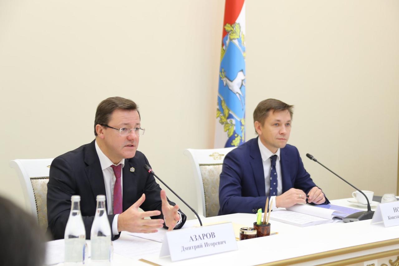 Губернатор и Министр цифрового развития РФ провели большое совещание в Самаре