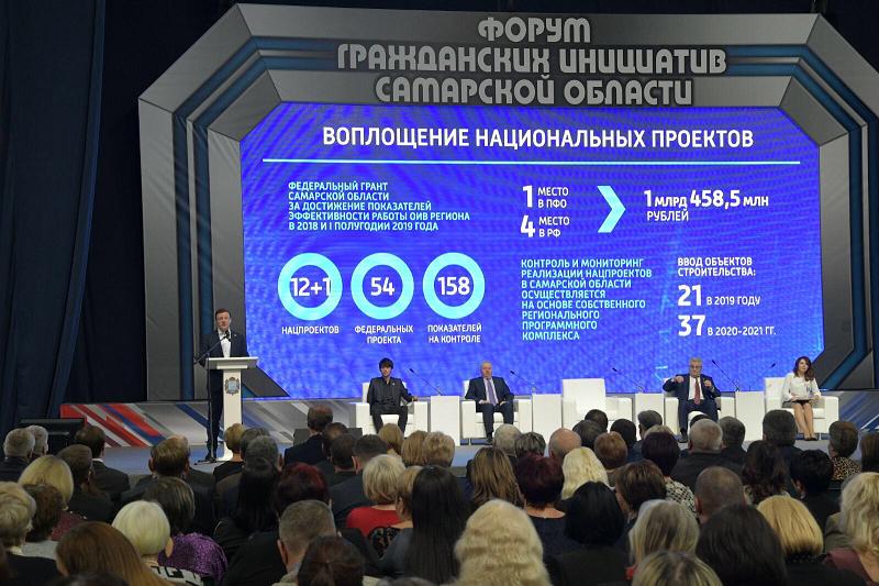В Самарской области прошел масштабный Форум гражданских инициатив
