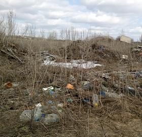 Под Тольятти хозяин земли заплатит двойной штраф из-за захламленного участка