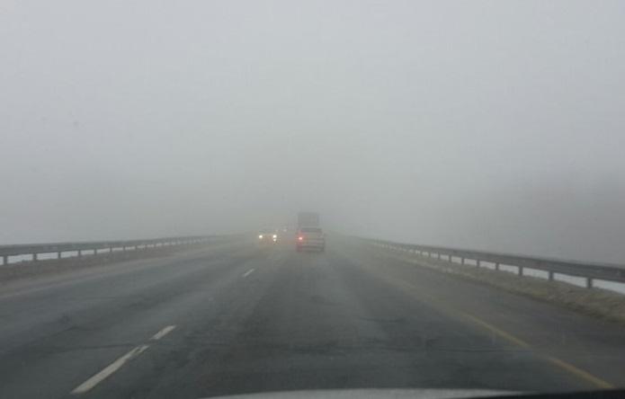 Внимание! В Самарской области туман и сильный ветер