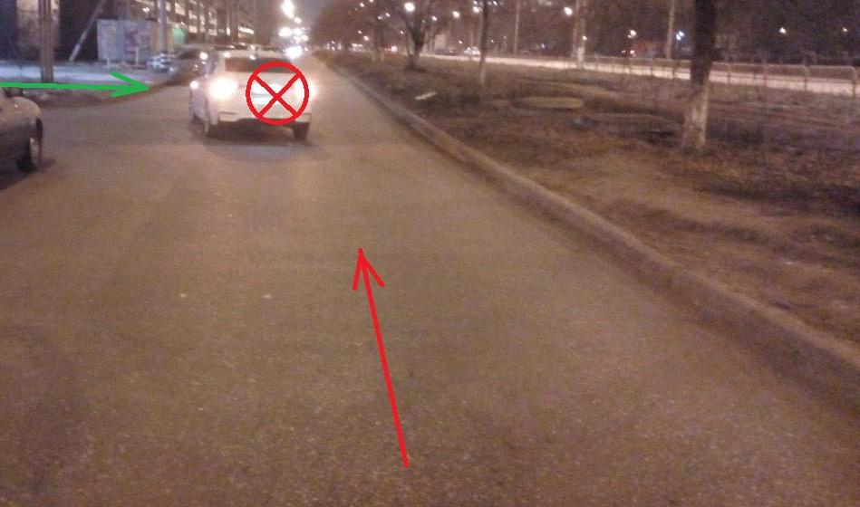 В Тольятти иномарка сбила маму с ребенком