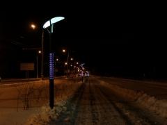 В Тольятти изменили режим работы освещения лесной велодорожки