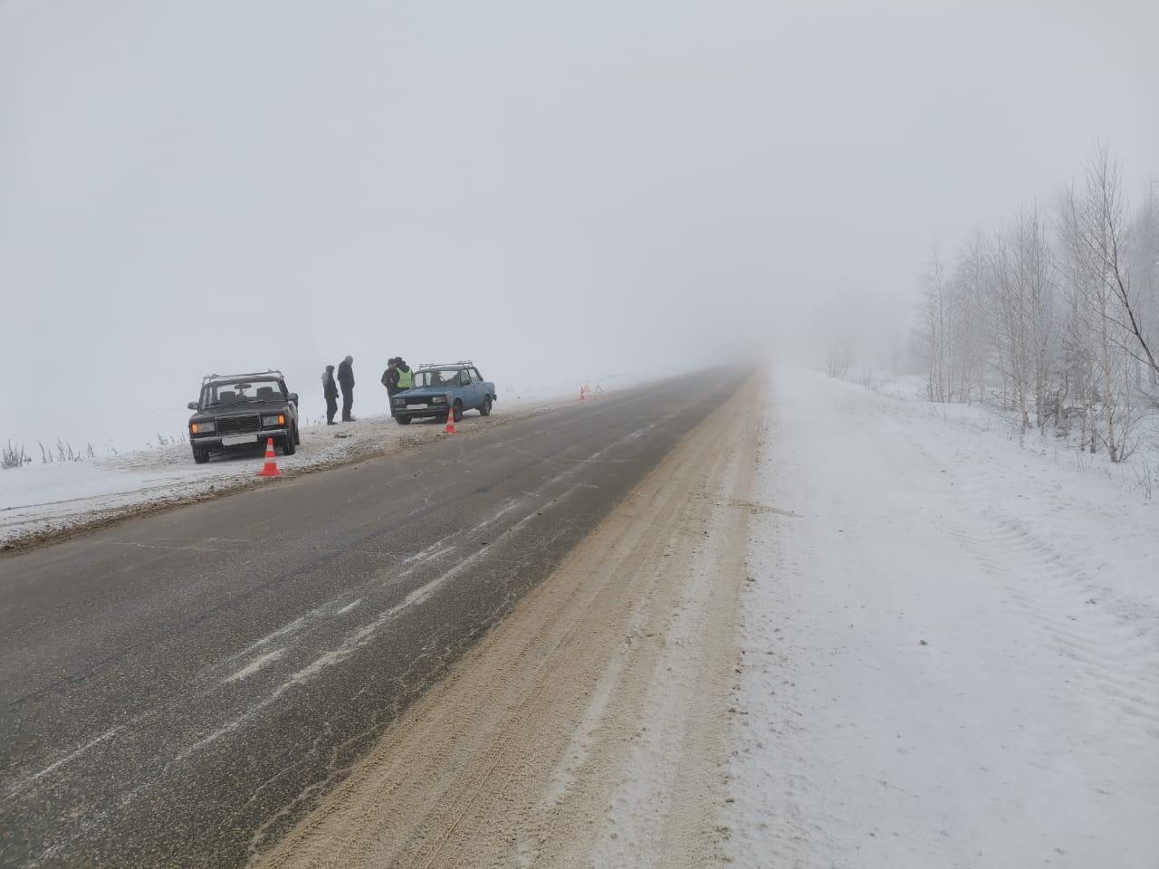 ДТП из прошлого: Под Тольятти в тумане водитель «пятерки» врезался в «семерку»