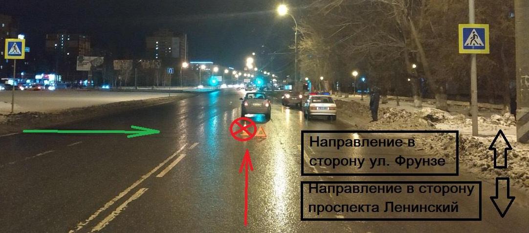 В Тольятти девушка пострадала на пешеходном переходе