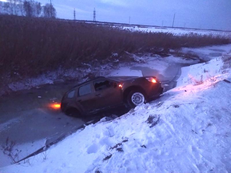 Под Тольятти погиб водитель, вылетевший на машине в канаву