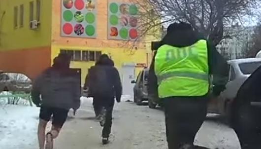 В Тольятти пьяный водитель бросил свой «Мерседес» и попытался убежать от ДПС