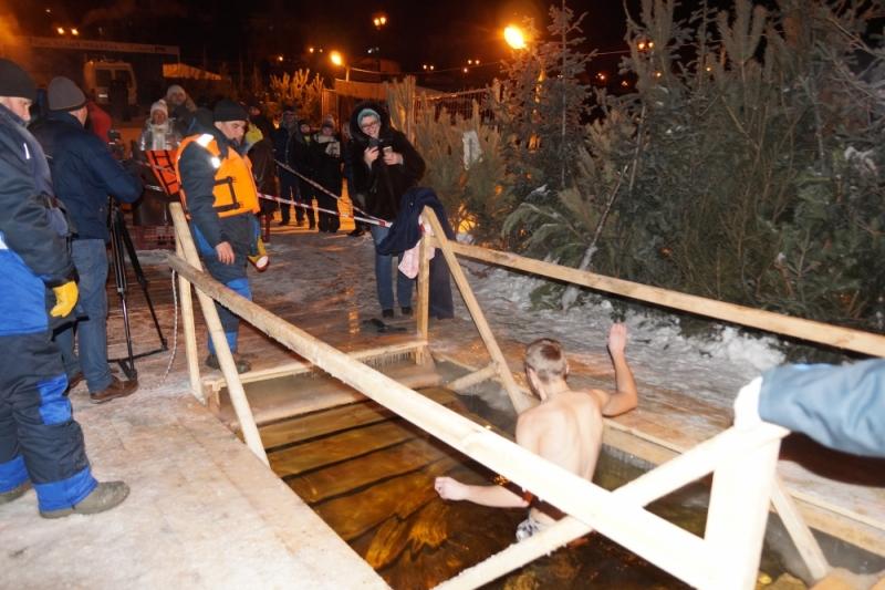 Погода не позволит провести крещенские купания на Волге в Тольятти